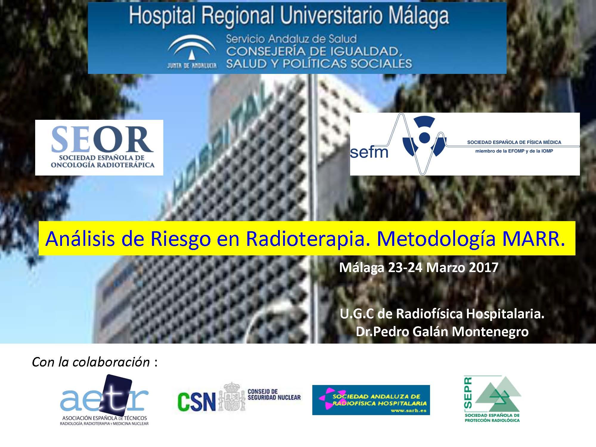 Análisis de Riesgo en Radioterapia. Metodología MARR.