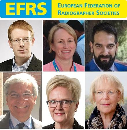 Nueva Junta Directiva de la Federación Europea de Sociedades de Radiógrafos (EFRS)