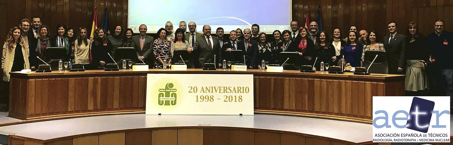 AETR asiste invitada al 20 Aniversario de la Comisión de Formación Continuada