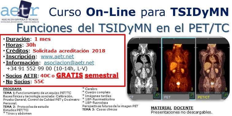 Curso Funciones del TSIDyMN en el PET/TC
