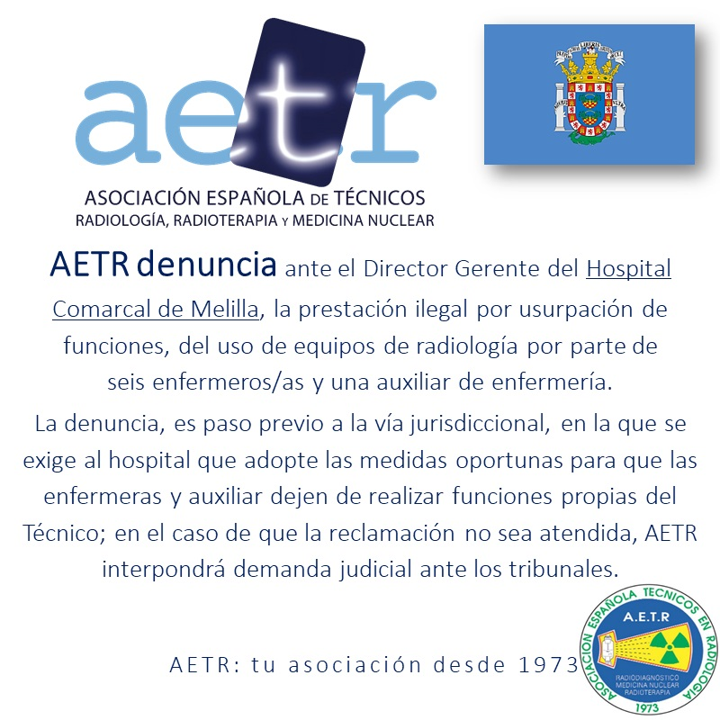AETR – denuncia (Hospital Comarcal Melilla)
