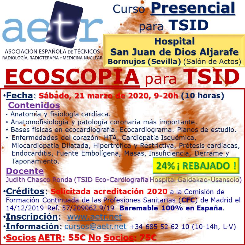 Curso Presencial de Ecoscopia para TSID