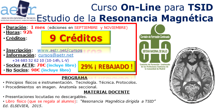 Curso Estudio de la Resonancia Magnética