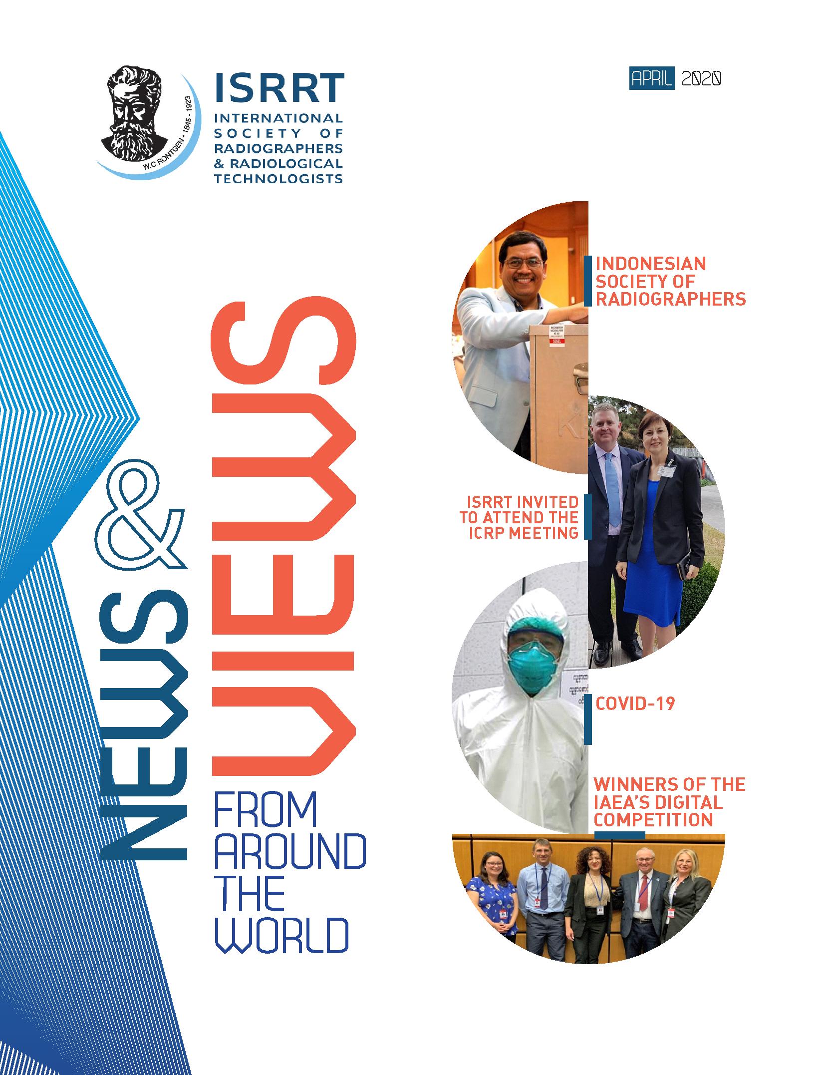 Número de abril/2020 de la revista de la ISRRT