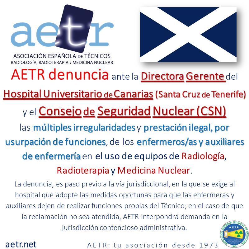 AETR denuncia irregularidades por usurpación de funciones