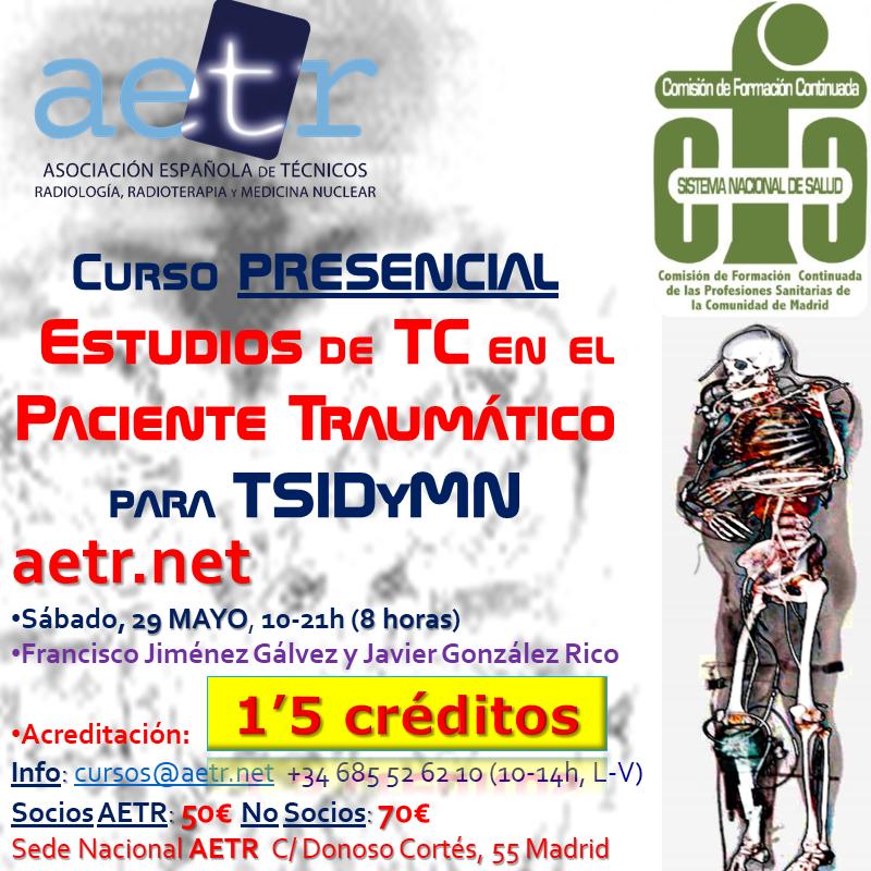 Curso de Estudios de Tomografía Computarizada en el paciente traumático (may21)
