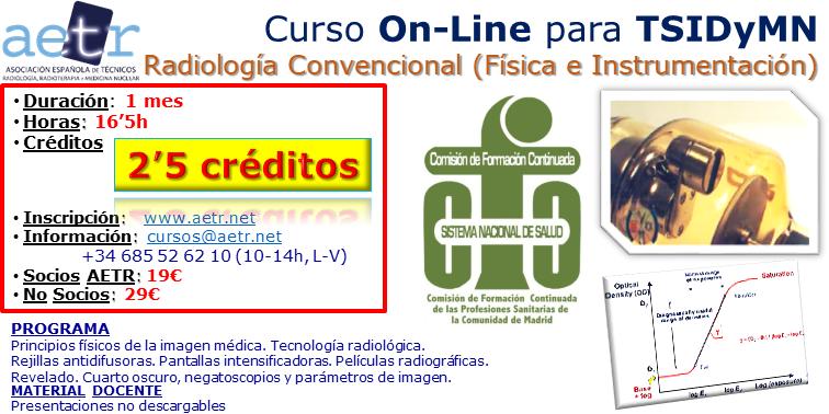 Curso Radiología convencional (Física e Instrumentación)