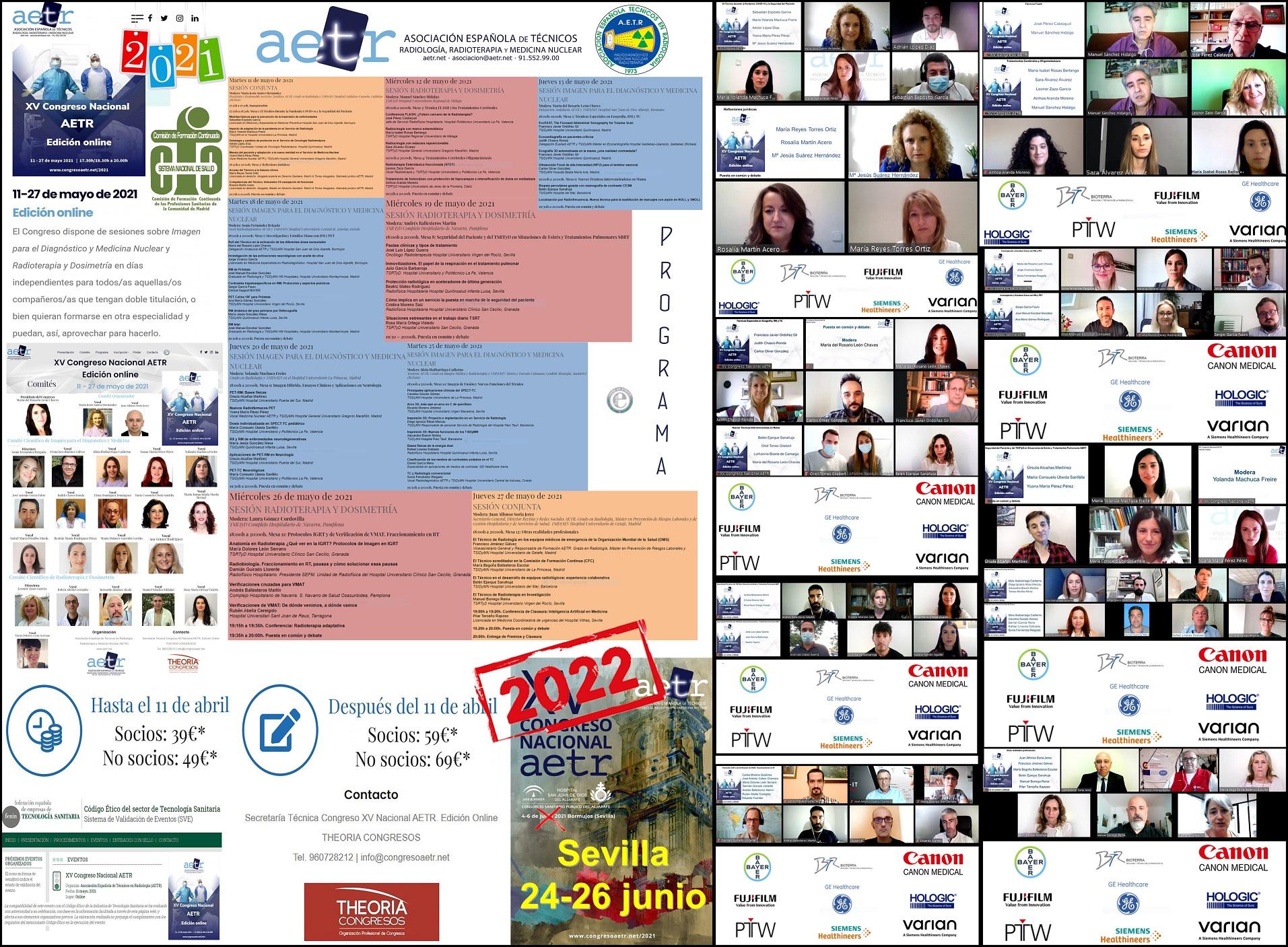 Finalizado el XV Congreso Nacional de AETR 2021 Edición Online
